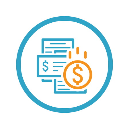 Bill Payment Icon. Bill Payment Icon Concept. Bill Payment Icon Isolated Illustration