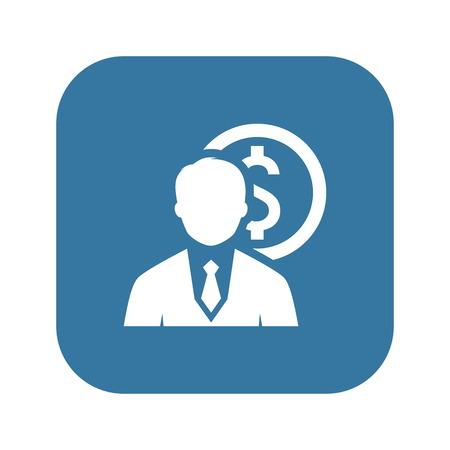 Value Icon. Business Concept. Flat Design Isolated Illustration Illustration