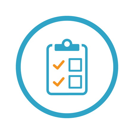 Appointment Request and Medical Services Icon. Illustration