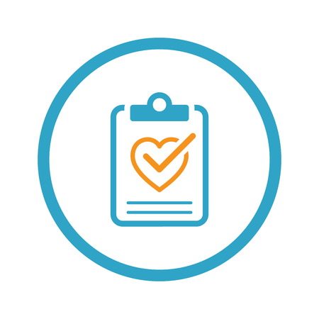 Health Tests and Medical Services Icon. Flat Design. Illustration