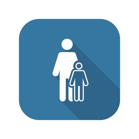 Pediatrics and Medical Services Icon.