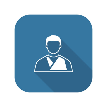 Orthopedics Icon. Flat Design.
