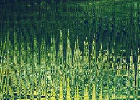 polar lights: Abstract background in green colors, imitation polar lights. Horizontal.