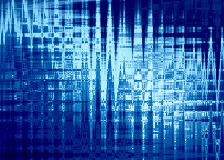 polar lights: Abstract background in blue colors, imitation polar lights. Horizontal. Stock Photo