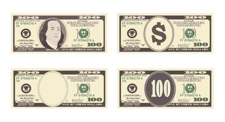 100 ドル紙幣。