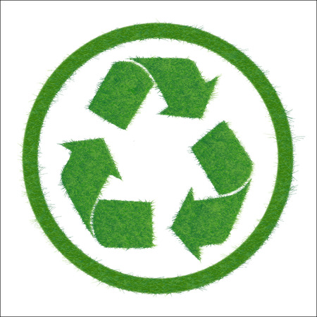 Symbol of recycle. Illustration