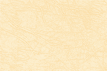 Colored  skin texture, natural or faux light leather background. Yellow leatherette, closeup.