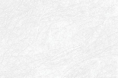 Farbige Hautstruktur, natürlicher oder weißer Kunstlederhintergrund. Hellgraues Kunstleder, Nahaufnahme.