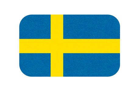 Sweden flag, Scandinavian country.