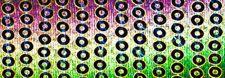 Fluorescent pattern of disco the 80s