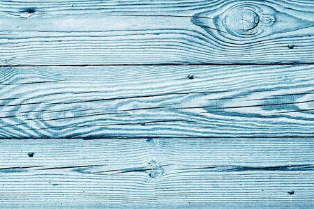 Light blue wood boards.