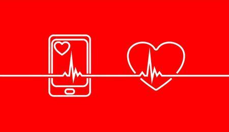Health care set. Set of outline icon Logo. Vector illustration.