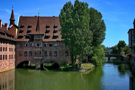 The city on the river Pegnitz