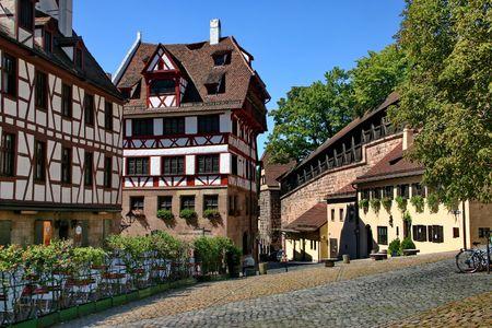 durer: Norimberga. La zona vicino casa Albrecht Durer