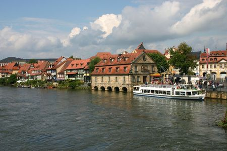 Bamberg - the town in Bavaria. Stock Photo