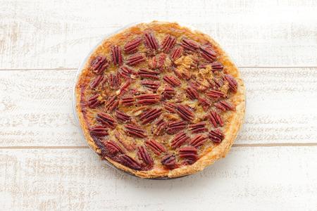 pecan pie: Hecho en casa de Maple Pecan Pie para las fiestas