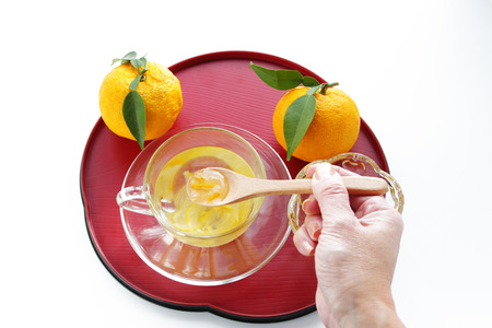 citron: Yuzu citron tea