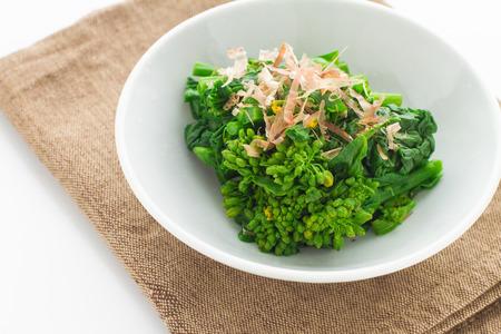 rappi: Japanese cuisine, boiled rapeseed blossoms