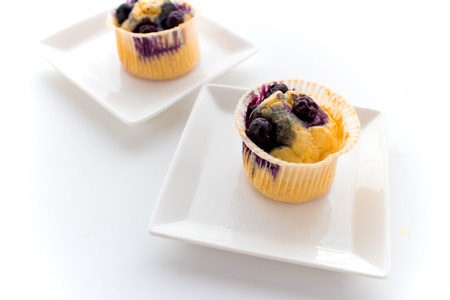 muffin: Blueberry muffins