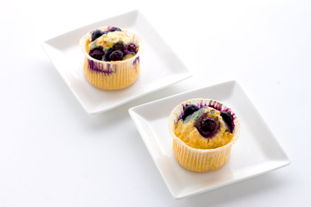 magdalenas: Blueberry muffins