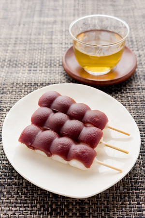 japanese dango Stock Photo