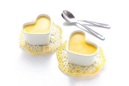 pudding: custard pudding