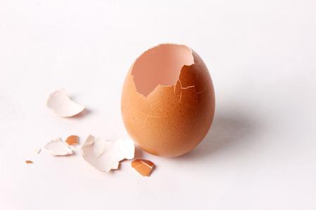 egg shell opening  It uncooked splinter