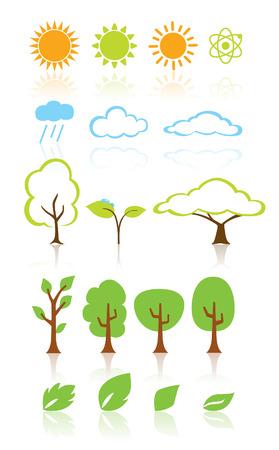 plant Eco Design Elements Stock Vector - 26837854