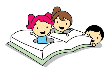 Children come out of the hole book