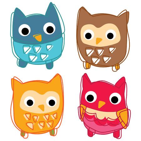 Cute animal icon vector illustration