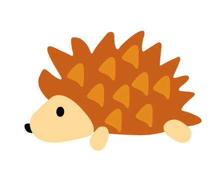 porcupine illustration  Vector