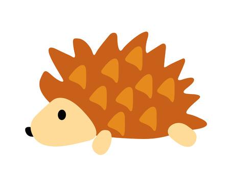 prickles: porcupine illustration