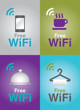 Public Free Wi-fi in restaurant