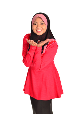 muslimah: Muslimah model in pose Stock Photo
