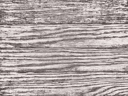 Dark wood texture. Vintage plank structured surface, natural wooden material, black and white grunge rustic style, linear cutting clicky fiber board, rough grains texture pattern. Vector background