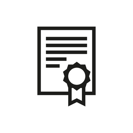 charter: charter icon, on white background Created For Mobile, Infographics, Web, Decor, Print Products, Applications. Icon isolated. Vector illustration