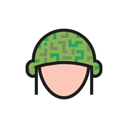 Helmet icon on white background Created For Mobile, Web, Decor, Print Products, Applications. Icon isolated. Vector illustration