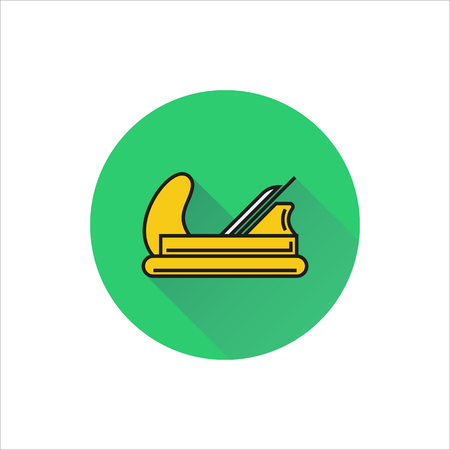 jack plane: Plane icon on white background Created For Mobile, Web, Decor, Print Products, Applications. Icon isolated. Illustration