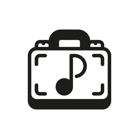 cd case: storage case on white background Created For Mobile, Web, Decor, Print Products, Applications. Icon isolated. Illustration