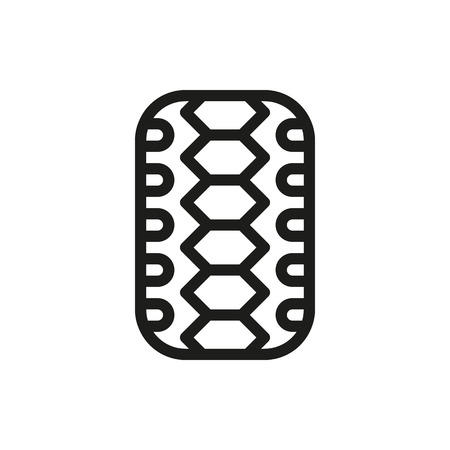 car tire: Car tire isolated on white background Created For Mobile, Web, Decor, Print Products, Applications. Icon isolated. Illustration