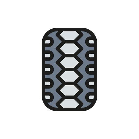 traction: Car tire isolated on white background Created For Mobile, Web, Decor, Print Products, Applications. Icon isolated
