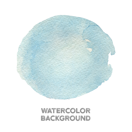 Hand painted blue watercolor texture 스톡 콘텐츠