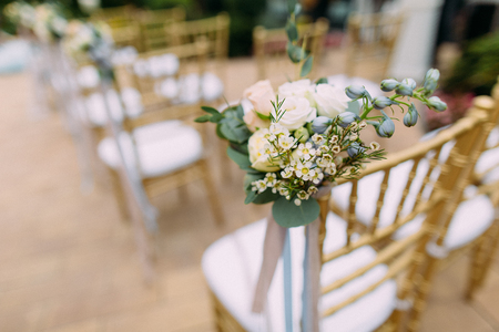 bouquet of bride Reklamní fotografie