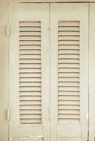 textured door retro shutters white in the house
