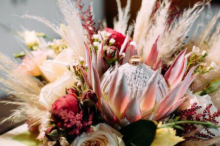 wedding decor flowers postcard