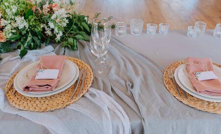 festive table event decoration celebration stylish decor and floristry