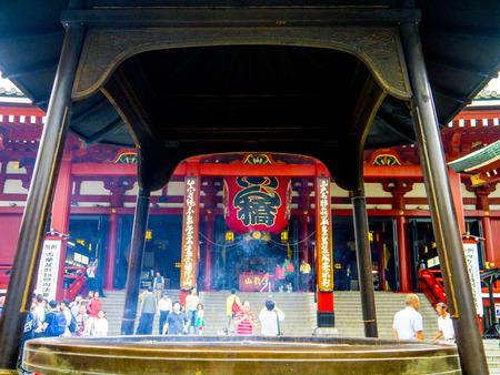 tone: Sensoji Temple Church parish tone Sightseeing Editorial