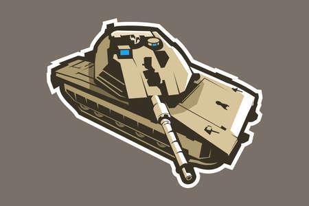 tank vector illustration Ilustração