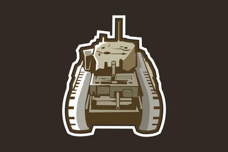 British   heavy tank vector illustration 向量圖像
