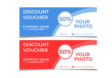 discount voucher template for your restaurant business